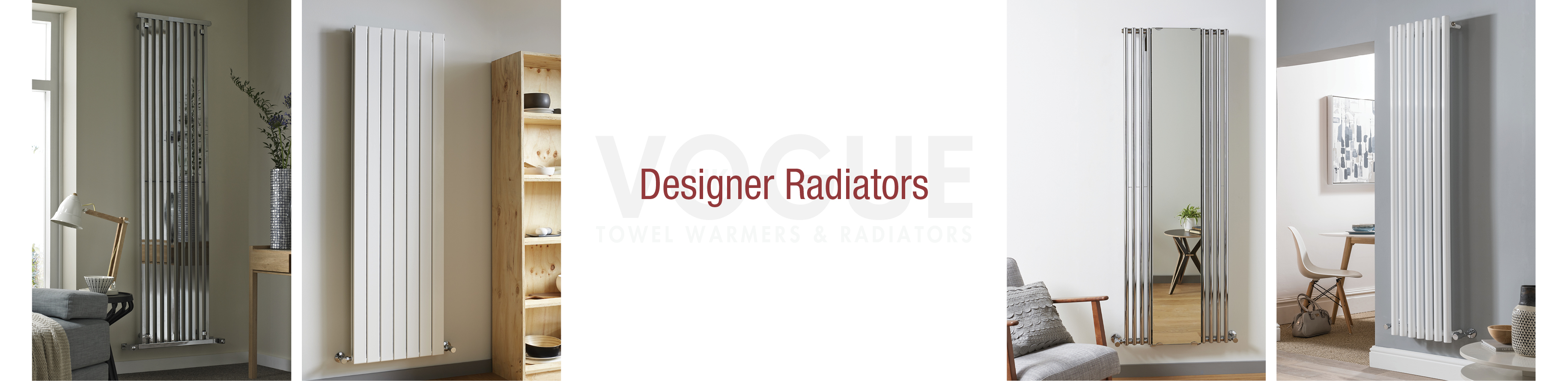 designer radiator product header