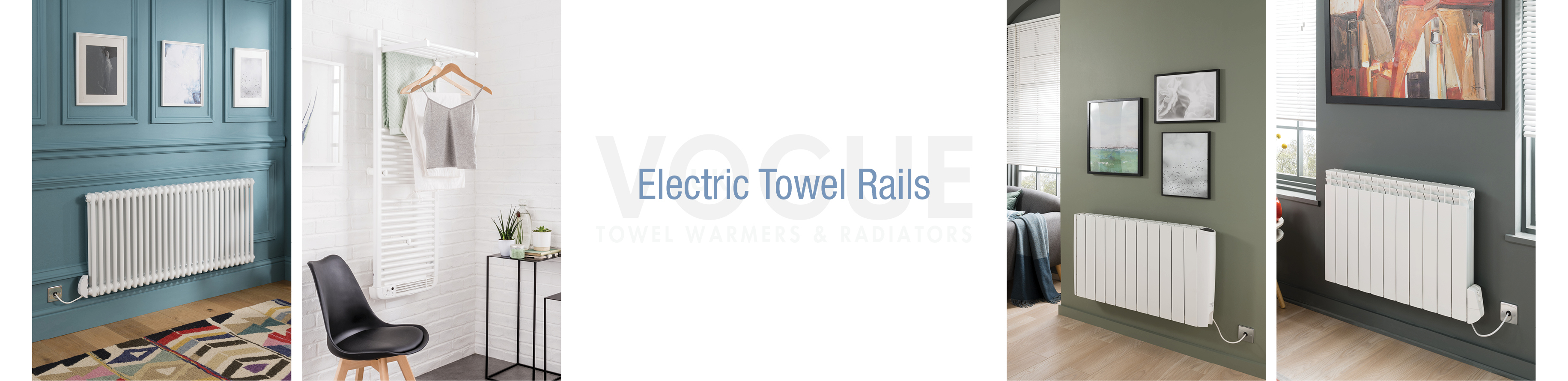electric towel rails product header