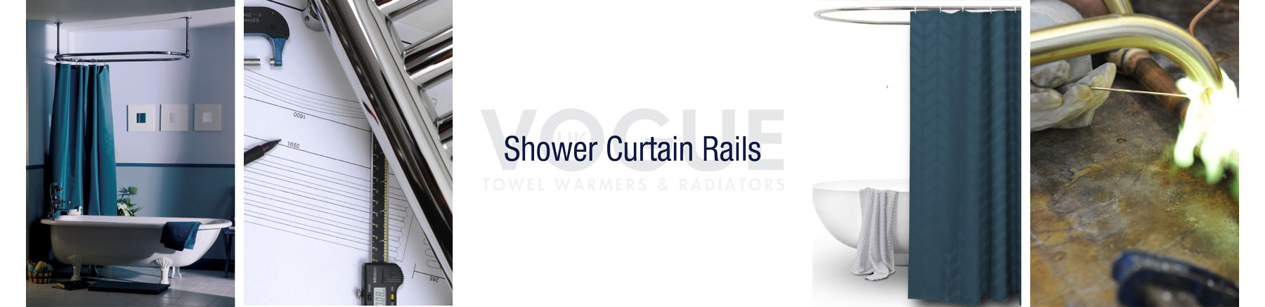 shower curtain rails product header