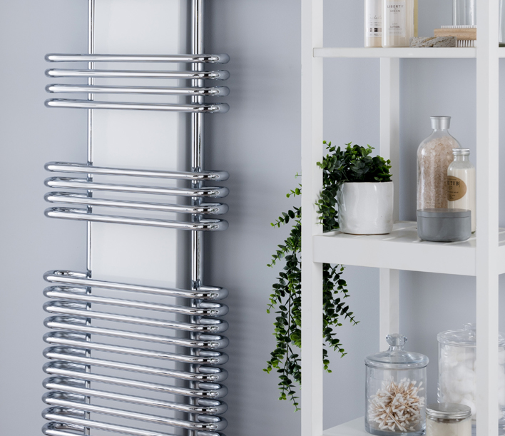 contemporary towel rails