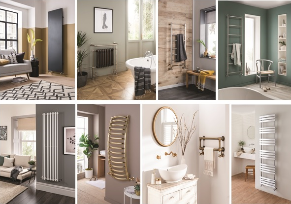 'Turn up the heat' with Vogue (UK) 2020 Heating Trends January 2020